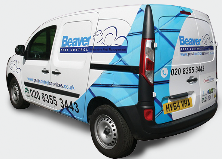 Areas we cover Beaver Pest Control London Van