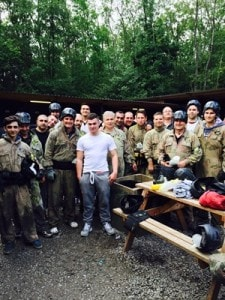 2015 Paintballing