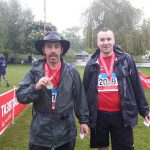 British Heart Foundation charity walk